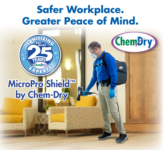 Commercial cleaning sanitizer
